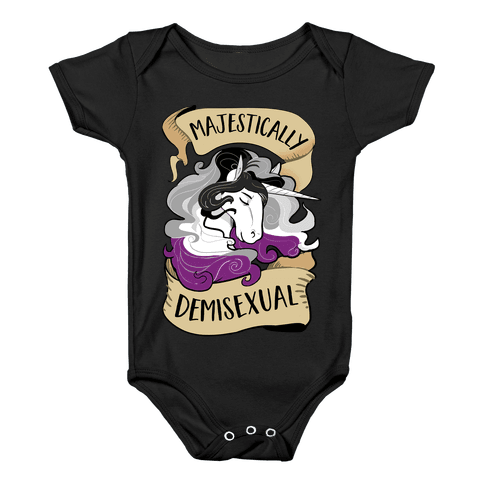 Majestically Bisexual Baby Onesy
