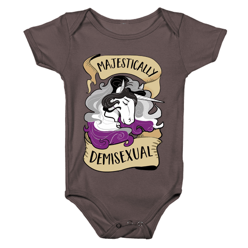 Majestically Demisexual Baby One-Piece