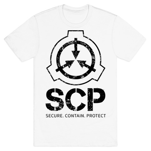 SCP Secure. Contain. Protect T-Shirt