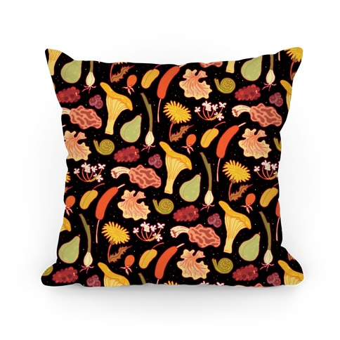 Forage Foral Pattern Pillow