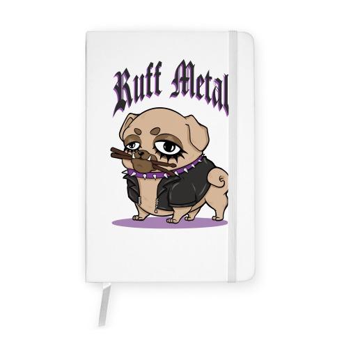 Ruff Metal Notebook