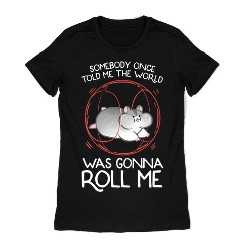 Somebody Once Told Me The World Was Gonna Roll Me Womens T-Shirt