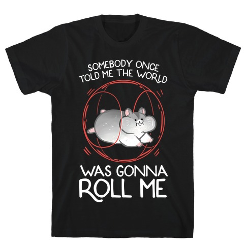 Somebody Once Told Me The World Was Gonna Roll Me T-Shirt