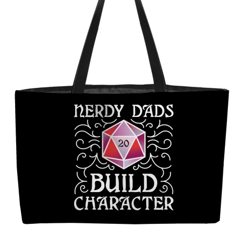 Nerdy Dads Build Character weekender