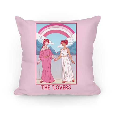 The Lovers - Sappho Pillow