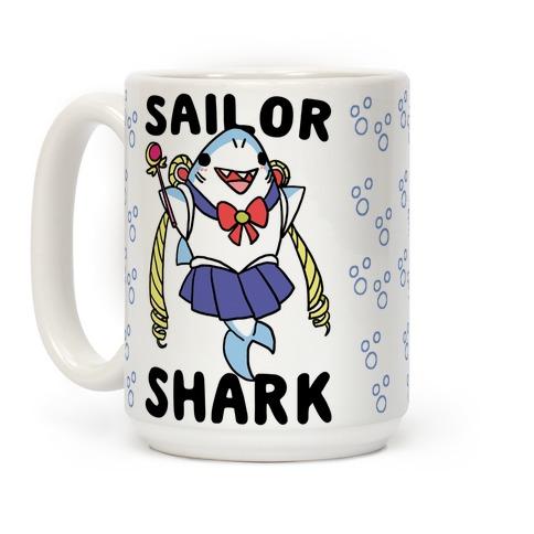 Sailor Shark Coffee Mug