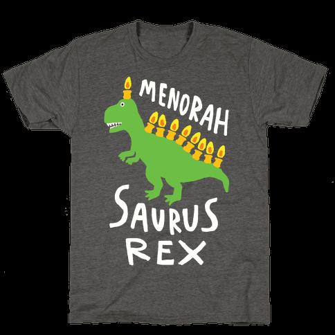 Menorah Saurus Rex Mens/Unisex T-Shirt