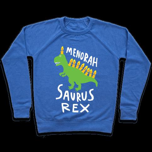 Menorah Saurus Rex  Pullover