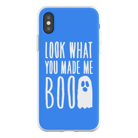 Look What You Made Me Boo Parody Phone Flexi-Case