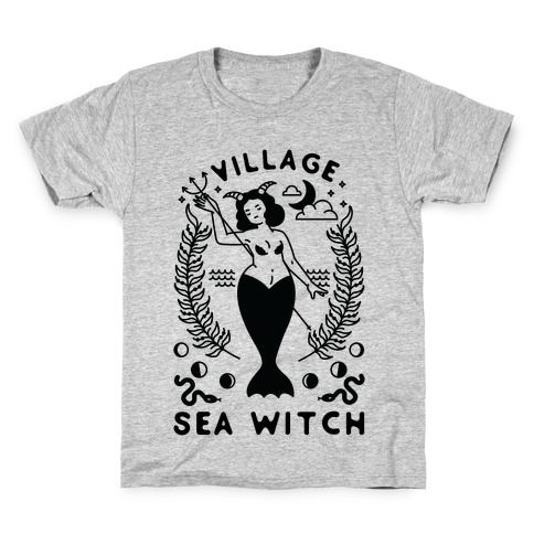 Village Sea Witch Kids T-Shirt