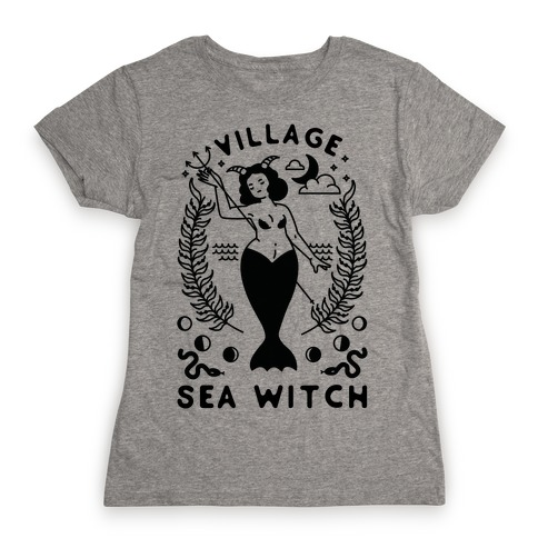 Village Sea Witch Womens T-Shirt