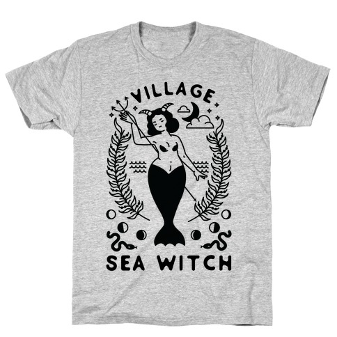 Village Sea Witch Mens/Unisex T-Shirt