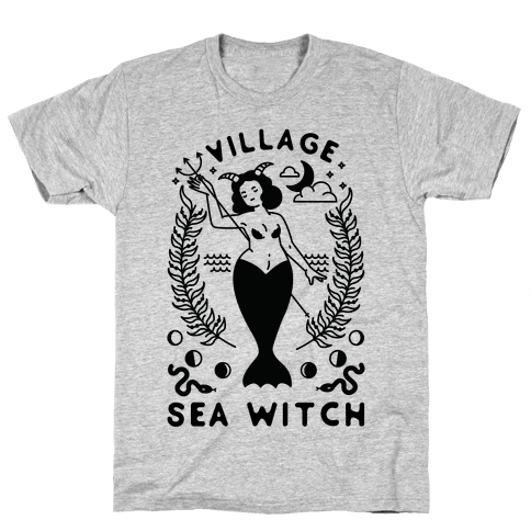 Village Sea Witch Mens/Unisex T-Shirt