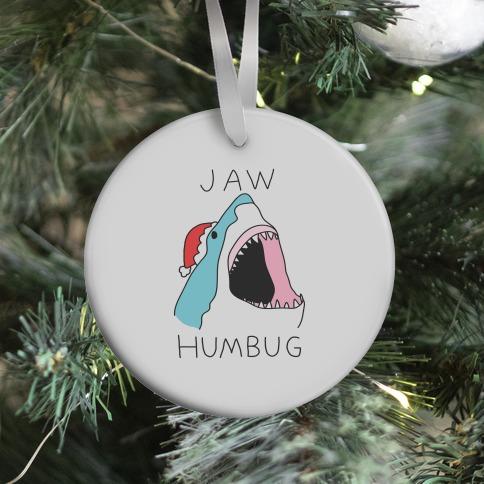 Jaw Humbug Ornament