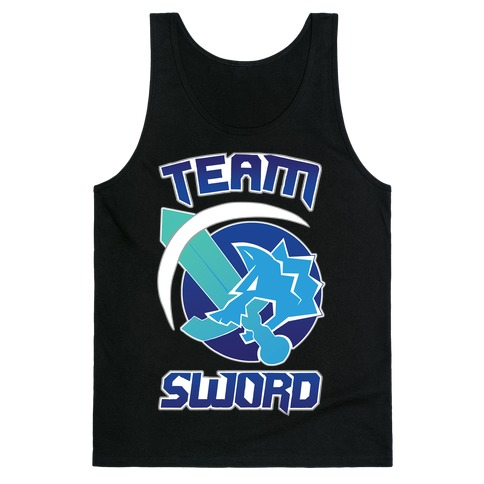 Team Sword Tank Top