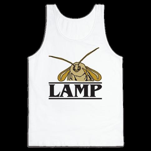 Lamp Moth Stranger Things Parody Tank Top