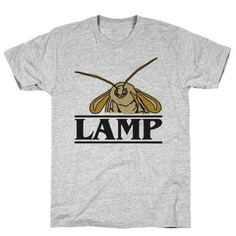 Lamp Moth Stranger Things Parody T-Shirt
