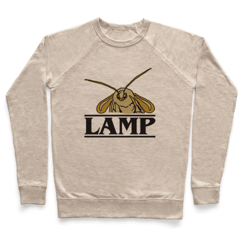 Lamp Moth Stranger Things Parody Pullover