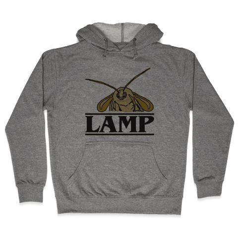 Lamp Moth Stranger Things Parody Hooded Sweatshirt