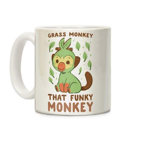 Grass Monkey, That Funky Monkey - Grookey Coffee Mug