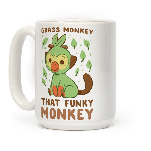 Grass Monkey, That Funky Monkey - Grookey Coffee Mug