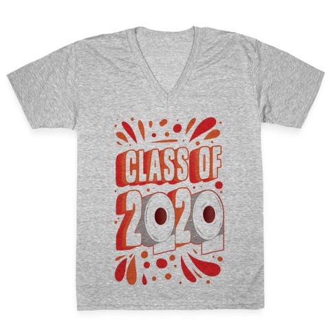 Class of 2020 V-Neck Tee Shirt