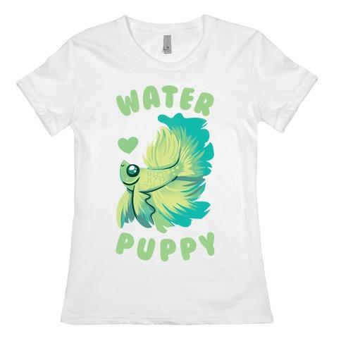 Water Puppy! Womens T-Shirt