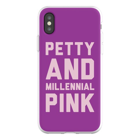 Petty And Millennial Pink Phone Flexi-Case