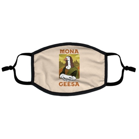 Mona Geesa Flat Face Mask