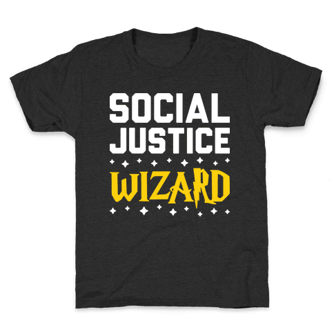 Social Justice Wizard Kids T-Shirt
