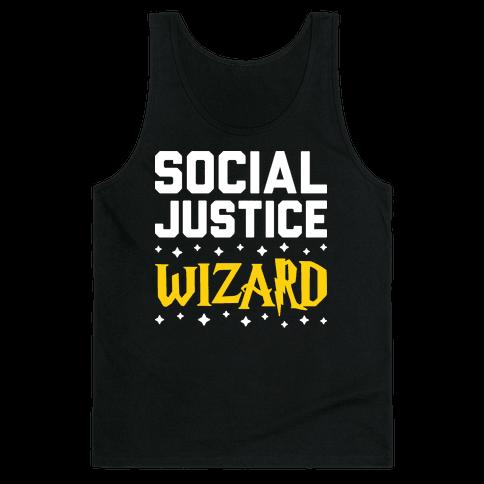 Social Justice Wizard Tank Top