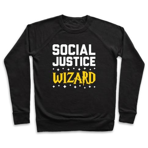 Social Justice Wizard Pullover