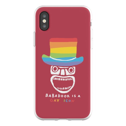 Babadook Is A Gay Icon Phone Flexi-Case