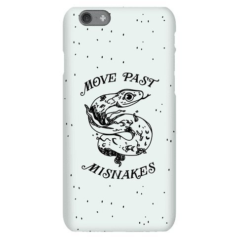 Move Past Misnakes Phone Case
