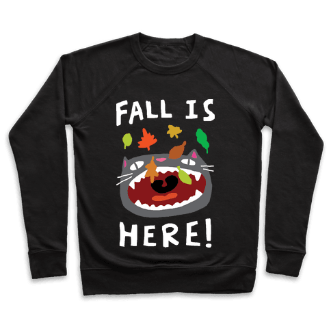 Fall Is Here Cat Pullover