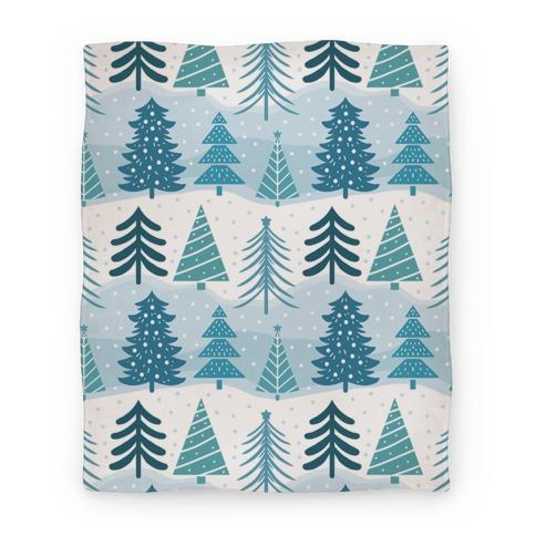 Christmas Tree Pattern Blanket