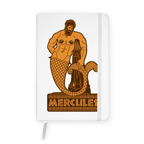 Mercules Merman Hercules Parody Notebook