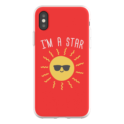 I'm A Star (Sun) Phone Flexi-Case