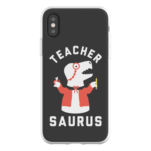 Teacher Saurus cardigan Phone Flexi-Case