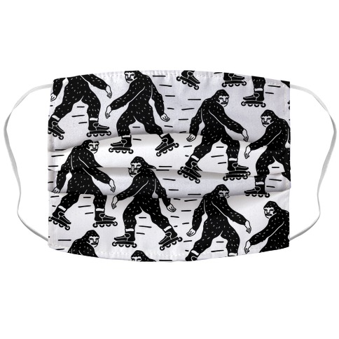 Later Haters Bigfoot Accordion Face Mask