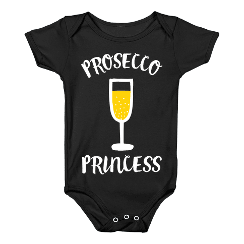 Prosecco Princess Baby Onesy