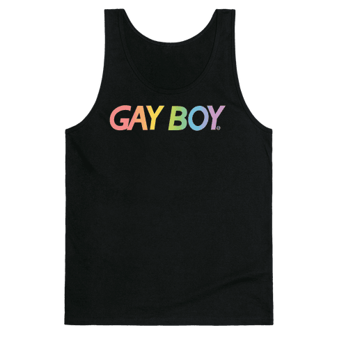 GayBoy Gameboy Parody Tank Top