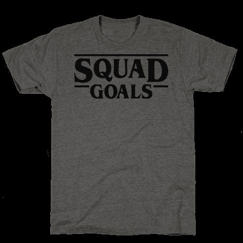 Stranger Squad Goals Parody (Black)