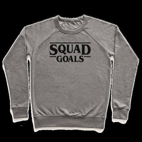 Stranger Squad Goals Parody (Black) Pullover