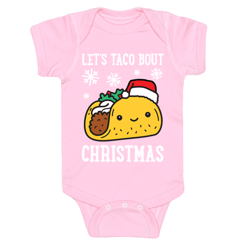Let's Taco Bout Christmas Baby Onesy