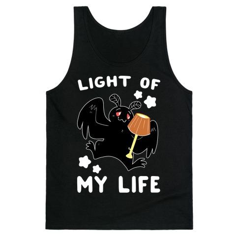 Light of my Life - Mothman and Lamp Tank Top