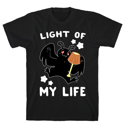 Light of my Life - Mothman and Lamp Mens T-Shirt