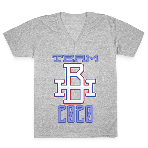 Team Biden/Harris Sportster V-Neck Tee Shirt