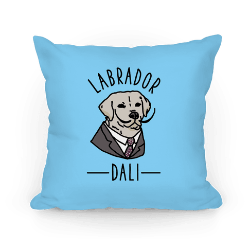 Labrador Dali Pillow