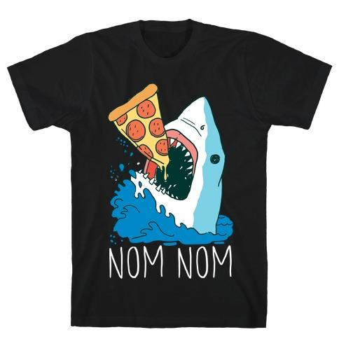 Nom Nom Pizza Shirt T-Shirt